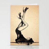 heels Stationery Cards featuring HEELS HIGH by F. J. Lara