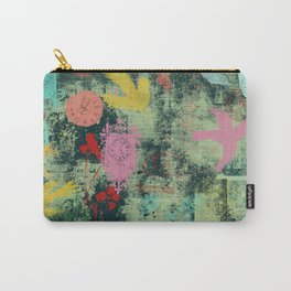 Time Waits Not [dark green] Carry-All Pouch