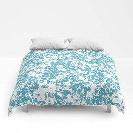 Cottage Charming Blue Comforters