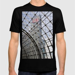 train station of glass in Berlin T-shirt