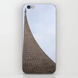 cosmonauts monument iPhone Skin