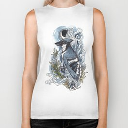 Moon and Smoke Biker Tank