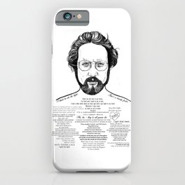 Jaws Dr Hooper Ink'd Series iPhone Case