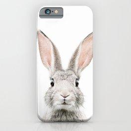 Bunny face iPhone Case