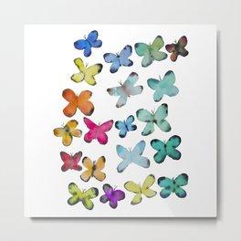 For A Friend: Butterflies Metal Print