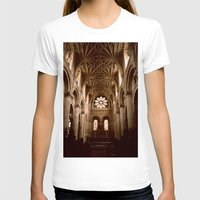 england T-shirts featuring Oxford, England by David Hohmann