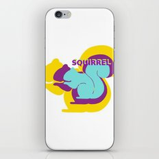 Layers of Squirrels iPhone & iPod Skin