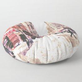 New York City Snow Soho Floor Pillow