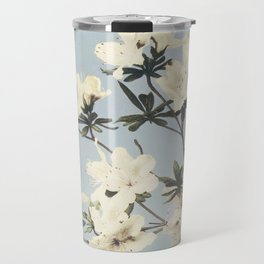 Vintage Japanese Azaleas Travel Mug