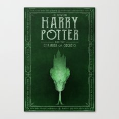 HP Book 2 (Book Cover) Canvas Print