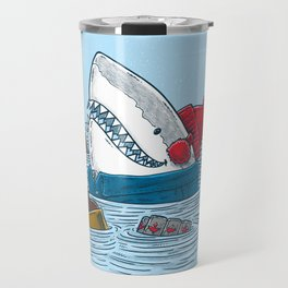 Great White North Shark Travel Mug