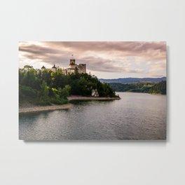 Dunajec Castle In Niedzica Metal Print