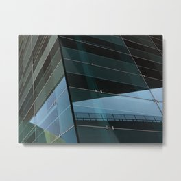 Modern abstract projection Metal Print