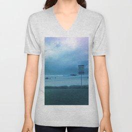 blue skies Unisex V-Neck