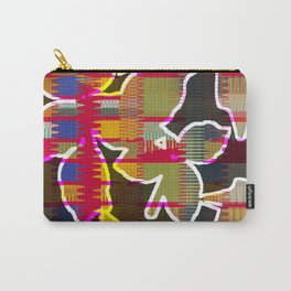 Waverly Leaf (Red) Carry-All Pouch