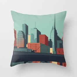 Urban Wildlife - Swordfish Throw Pillow