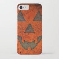 pumpkin iPhone & iPod Cases featuring Pumpkin by Renato Armignacco