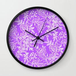 Radiant Orchid Tea Wall Clock