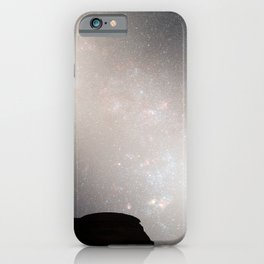 Hubble Space Telescope - Nighttime Sky View of Future Galaxy Merger: 5.1 Billion Years iPhone Case