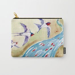 Huckleberry Sisters Carry-All Pouch