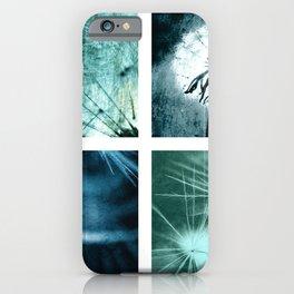 Dandelion art iPhone Case