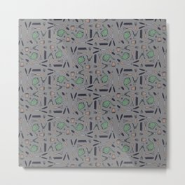 Garden Things - Colour Metal Print
