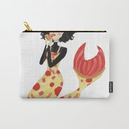 The Pizza Mermaid by Ashley Nada Carry-All Pouch