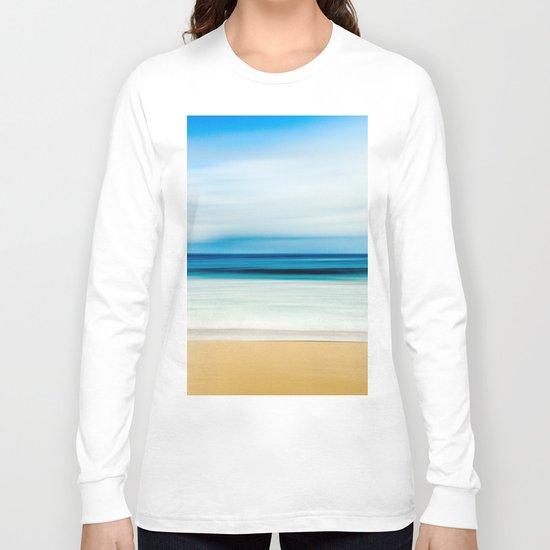 Peaceful ocean waves Long Sleeve T-shirt