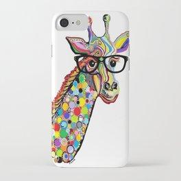 Hipster Giraffe iPhone Case