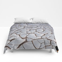 Cracked Earth Comforters