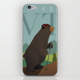 Hike Vermont iPhone Skin