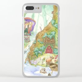 The Wind in the Willows Clear iPhone Case