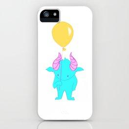 Blue Gremlin iPhone Case