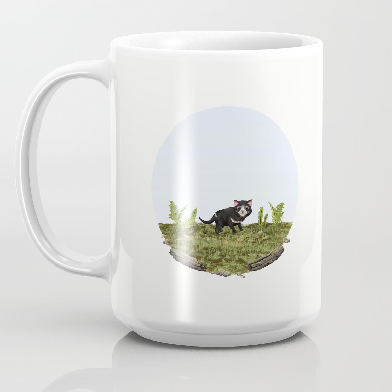 Tasmanian Devil Sarcophilus Harrisii Coffee Mug By Samlyne Society6