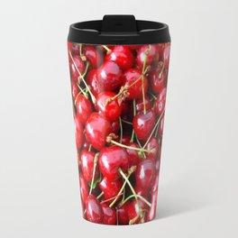 Cherries at the Market in Paris Travel Mug