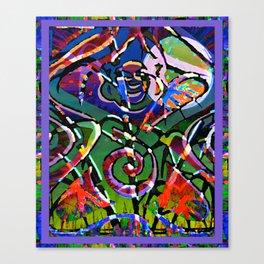 Wildheart Bodhisattva Canvas Print