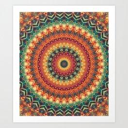 Mandala 254 Art Print