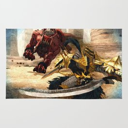 Knight - Beast Rug