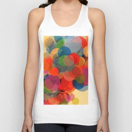 Abstract Composition 452 Unisex Tank Top
