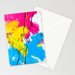 Flag of Love Stationery Cards