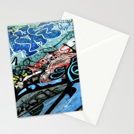 Graffiti is Art Stationery Cards