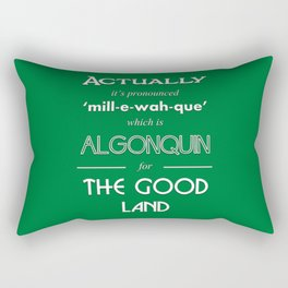 Milwaukee (Wayne's World) Rectangular Pillow