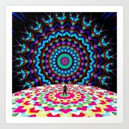 Bright Arrival Art Print