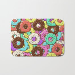so many donuts Bath Mat