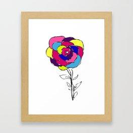 Flower yf 2048 Framed Art Print