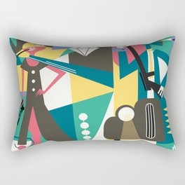 Gangster Couple Rectangular Pillow
