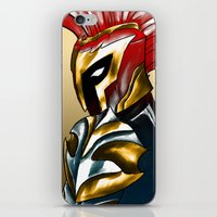 soldier iPhone & iPod Skins featuring Soldier by Hawthornearts
