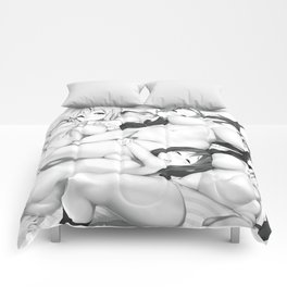 Lesbian Party III Comforters