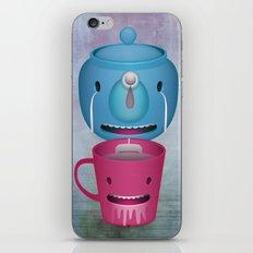 Tea Potty iPhone & iPod Skin