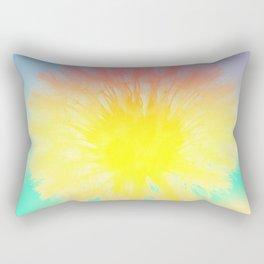 Blowing Dandelion Rectangular Pillow